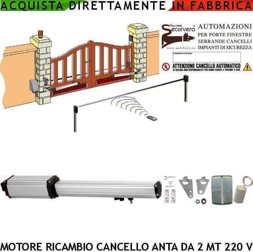 Schema Elettrico Cancello A Due Ante.Sv Mbs